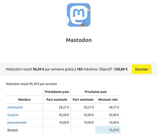 liberapayrecolteretserepartirdesfondse_liberapay_mastodon.png